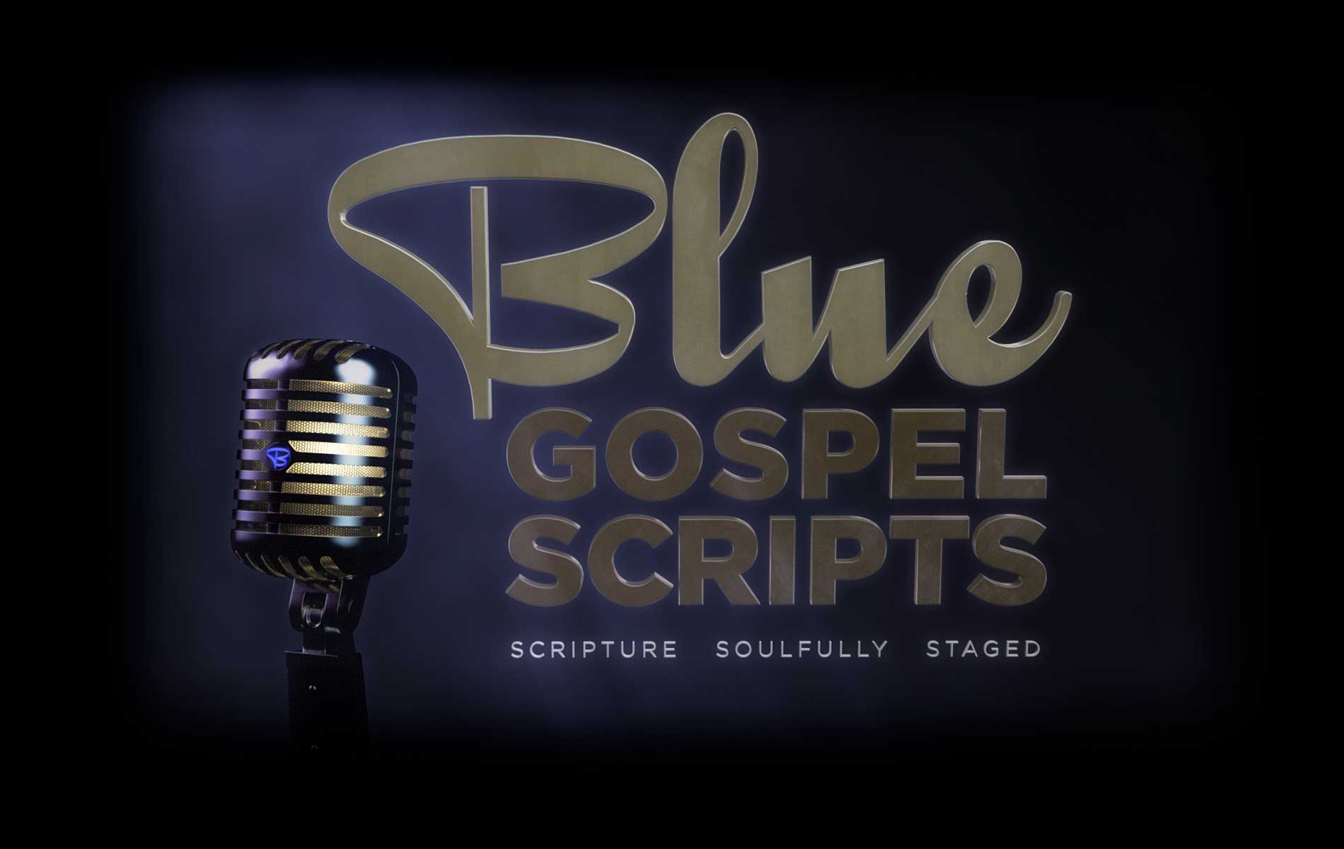 about blue gospel scripts