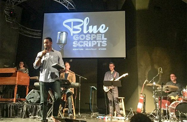 Blue Gospel Scripts show